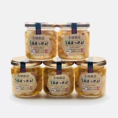 【高還元】うるまっきょ 5瓶|新鮮沖縄らっきょう酢漬けピクルス