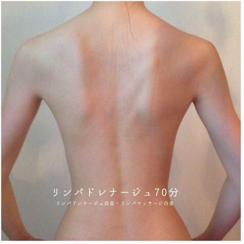 肌質改善|体質改善|ダイエット|便秘改善|むくみ|90分×5回|リンパマッサージ|小顔リフトアップ|アロマエステビーナスサロン|白金のイメージその1