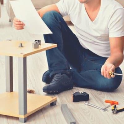 家具組み立てお助けチケット【3辺合計:0cm〜350cm】