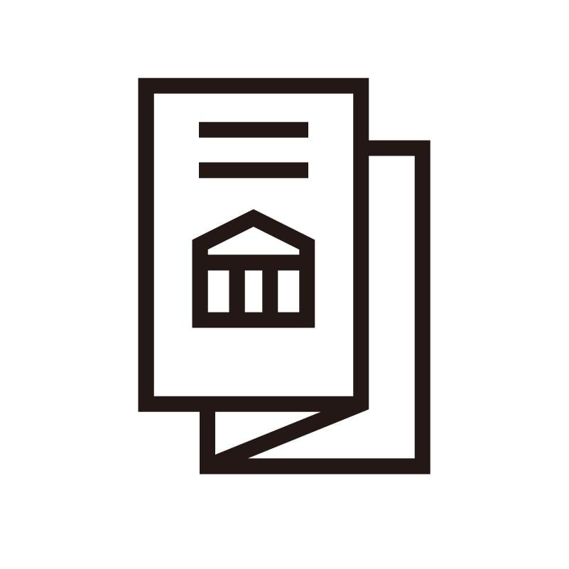<オンライン対応>三つ折りパンフレットデザインのイメージその1