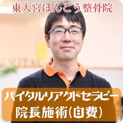 バイタルリアクトセラピー  院長施術(自費)