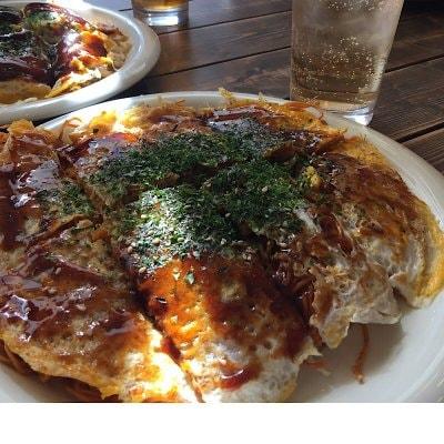 お持帰り用お好み焼き(肉玉そば・うどん・ピリ辛麺)