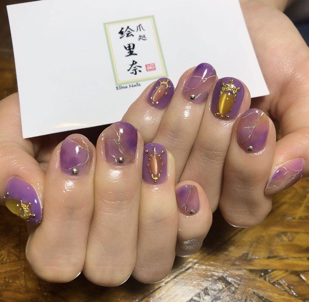 ジェルネイル定額¥12,000コース 爪処 絵里奈のイメージその1