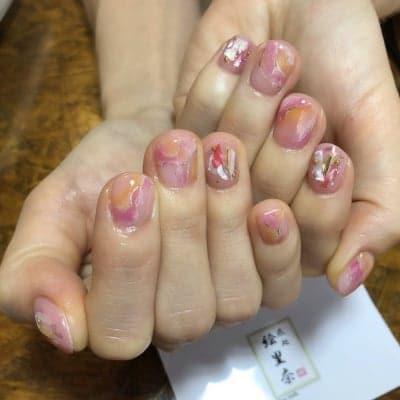 ジェルネイル定額¥10,000コース 爪処 絵里奈