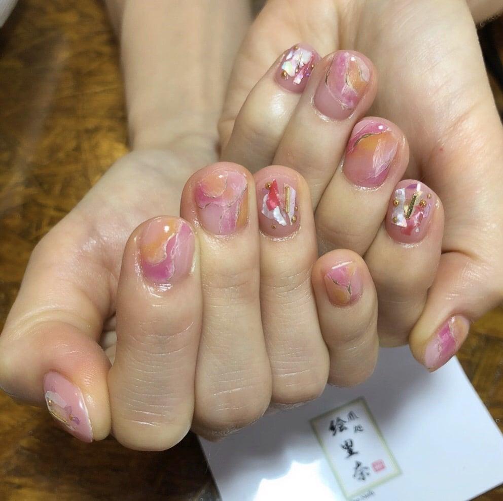 ジェルネイル定額¥10,000コース 爪処 絵里奈のイメージその1