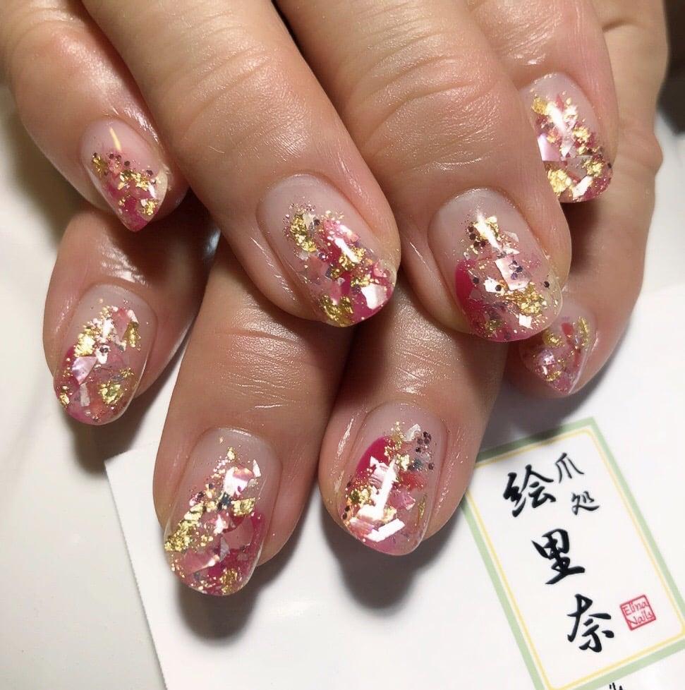 ジェルネイル定額¥8,000コース 爪処 絵里奈のイメージその1