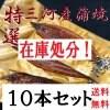 特選三河産蒲焼き10本
