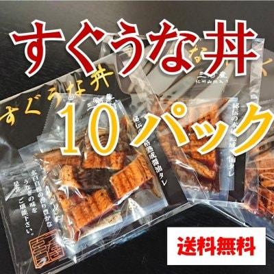 三河一色産 すぐうな丼 10パックセット