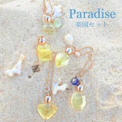 楽園-paradise-セット(ブレンド香油5点&Vanilla香油プレゼント)