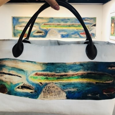 ECOバッグ 海:original art eco bag