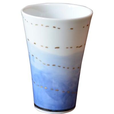 オリジナルデザイン カップ 1点もの ビアカップ 陶器 19010-B