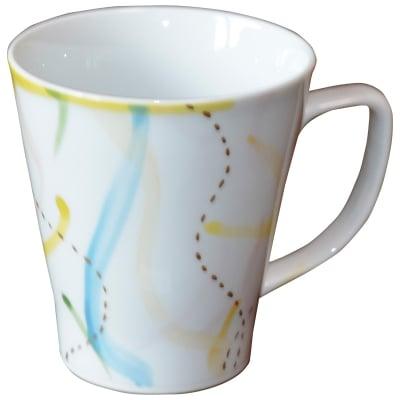 オリジナルデザイン マグカップ 1点もの コーヒーカップ 陶器 19035-E