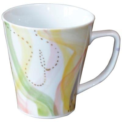 オリジナルデザイン マグカップ 1点もの コーヒーカップ 陶器 19040-E