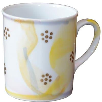 オリジナルデザイン マグカップ 1点もの コーヒーカップ 陶器 19044-F