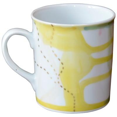 オリジナルデザイン マグカップ 1点もの コーヒーカップ 陶器 19053-F