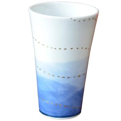 オリジナルデザイン カップ 1点もの ビアカップ大 陶器 19005-A