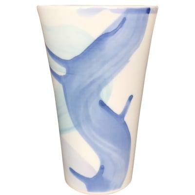 オリジナルデザイン カップ 1点もの ビアカップ大 陶器 19054-A