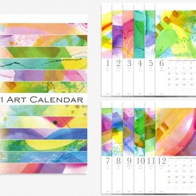 2021年 アートカレンダー