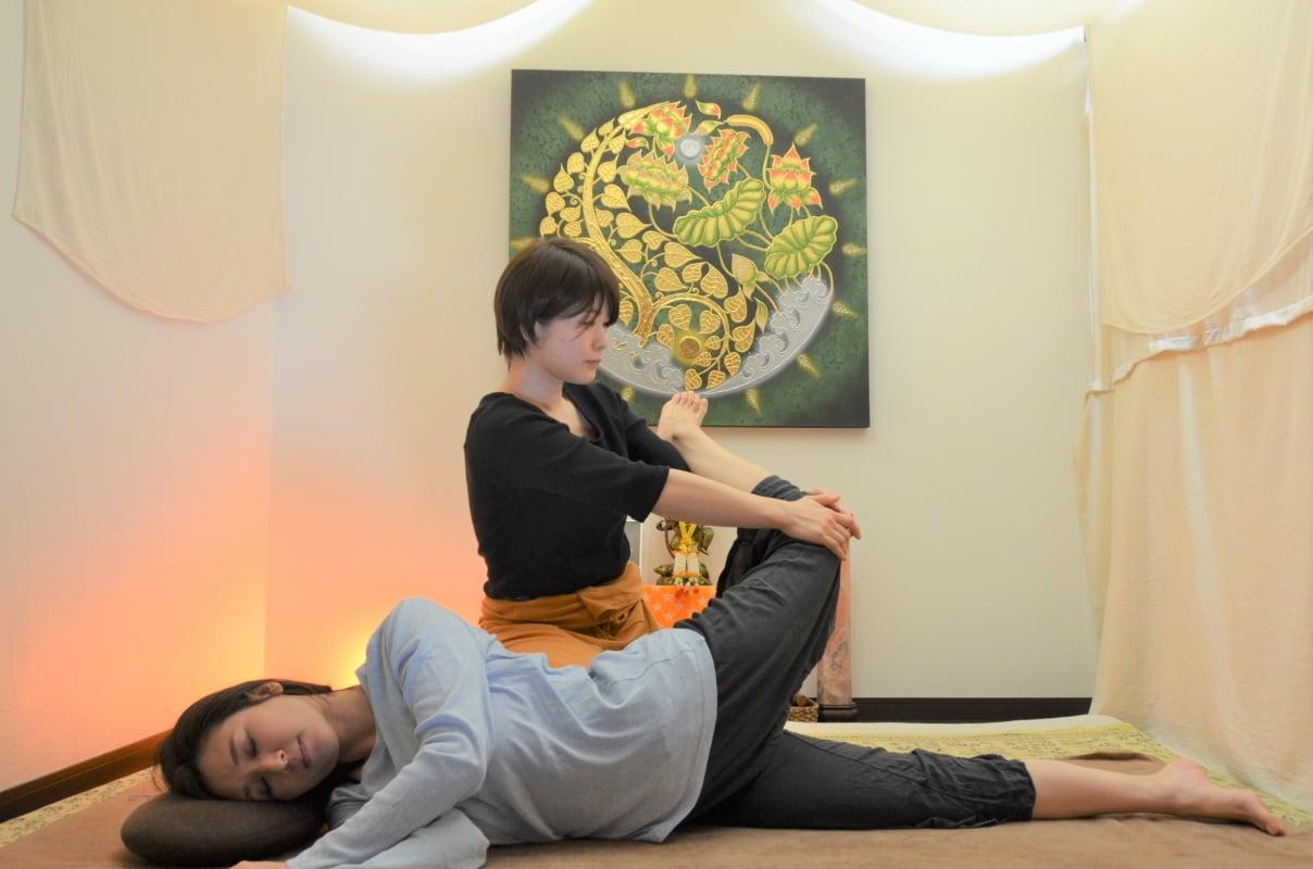 タイ古式マッサージクラスLV.1/Asian relax WaiTea【福井県鯖江市】【駅近】【駐車場有】のイメージその1