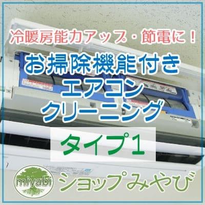 お掃除機能付エアコン本体クリーニング (タイプ1)  ◆現地払い専用◆