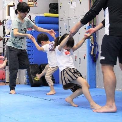 【キックボクシング】親子で楽しむ!親子クラスチケット+入会セット ※現地にて現金払いとなります