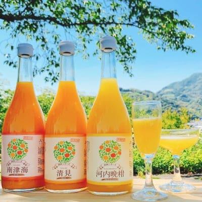 果汁100%ジュース 3本セット