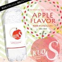強炭酸水KUOS アップルフレーバー 糖質・カロリー0 85円/本