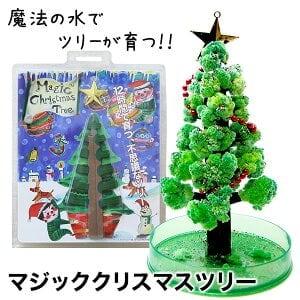 『マジック・クリスマスツリー』 12時間で育つ不思議なクリスマスツリー 送料無料