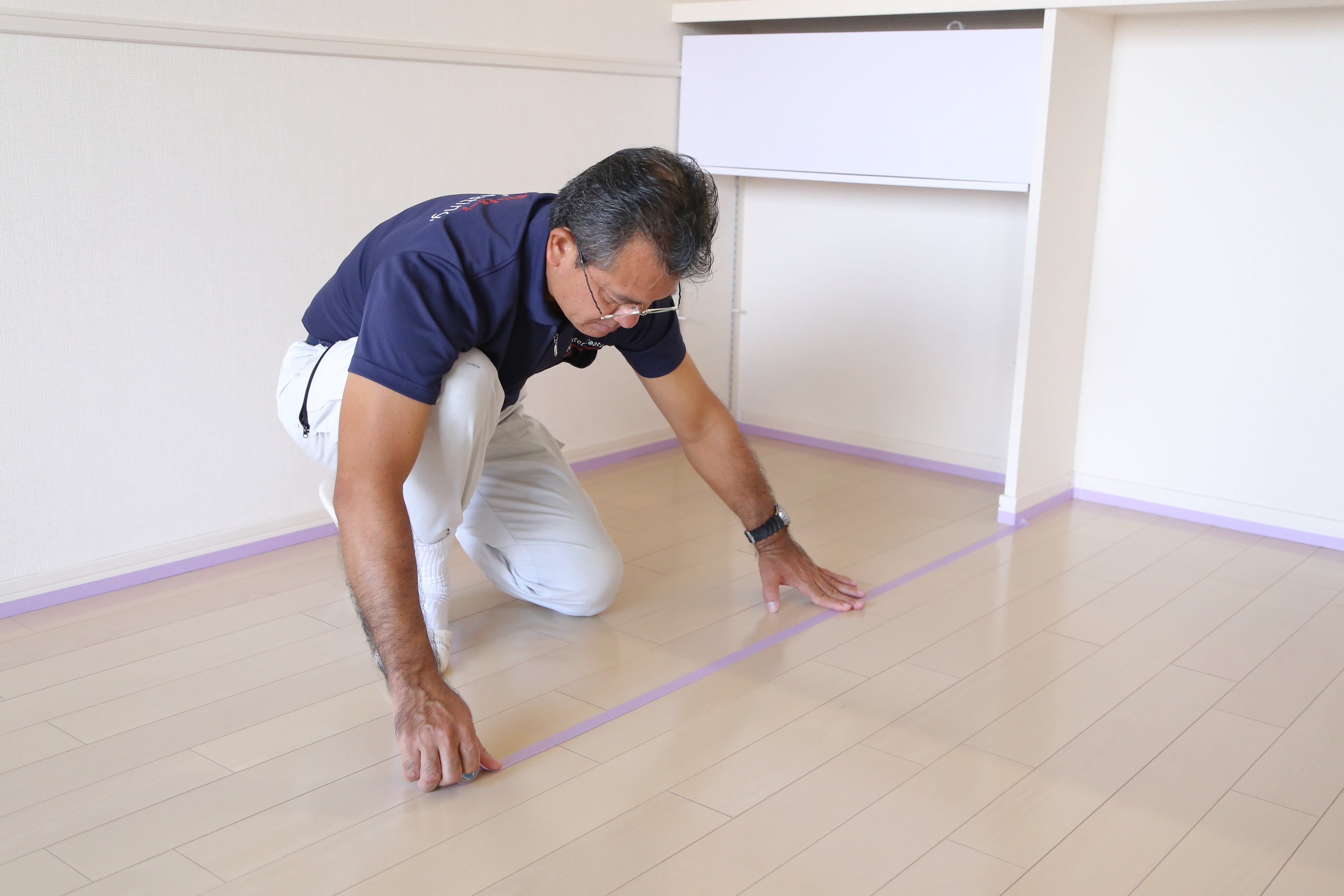 【超耐久30年!】ガラス皮膜のフロアコーティング(光沢控えめ)新築や床リフォーム後向けのイメージその4
