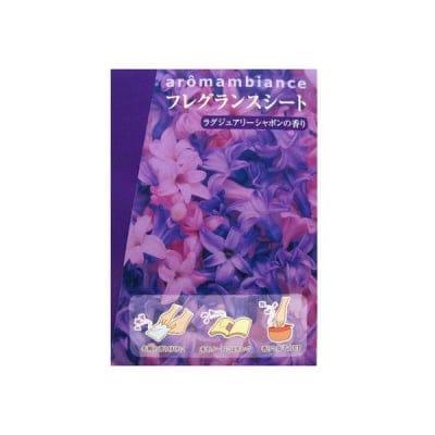 フレグランスシート ラグジュアリーシャボンの香り:香シート3枚入【香り】贅沢で華やかな香り サイズ 約縦7.5×横5.0cm