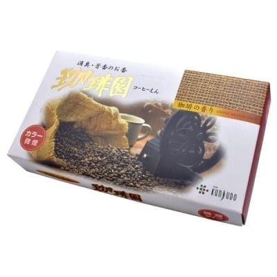 珈琲園 微煙タイプ|220本入り|約13.5cm/珈琲豆を炒ったような芳ばしい香り/コーヒー/ご家庭用お線香