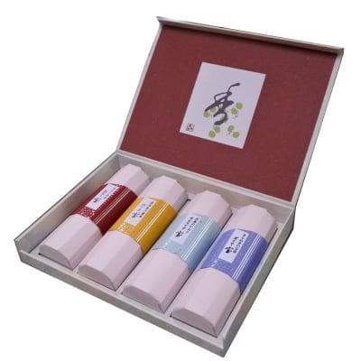 【送料全国一律520円】宝 香合わせギフト4本入 /ご先祖様や故人に真心伝える香りのお供えに|ご進物用お線香