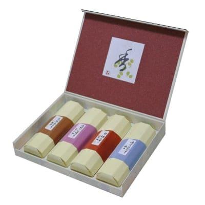 花琳 香合わせギフト4本入 /ご先祖様や故人に真心伝える香りのお供えに・ご進物用お線香