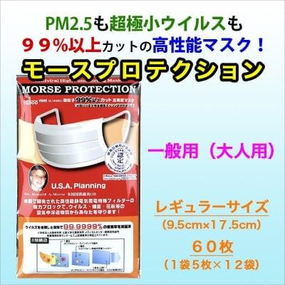 高性能マスク(大人用)【PM2.5・ウイルスを99%カット!】(レギュラ...