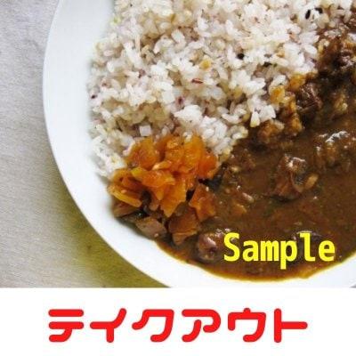 【テイクアウト】(サンプル)カレーライス