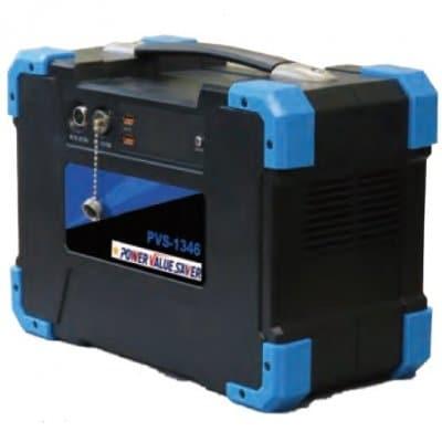 台風、地震、停電対策に最適。最新制御コントロール機能付ポータブル大容量リチウムイオン蓄電池 パワーバリューサーバー PVS-1346