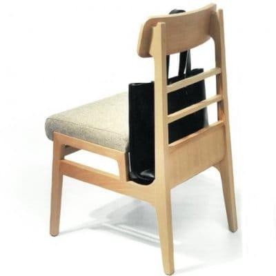 バッグや傘を収納出来るおしゃれな日本製椅子 バッグインチェア