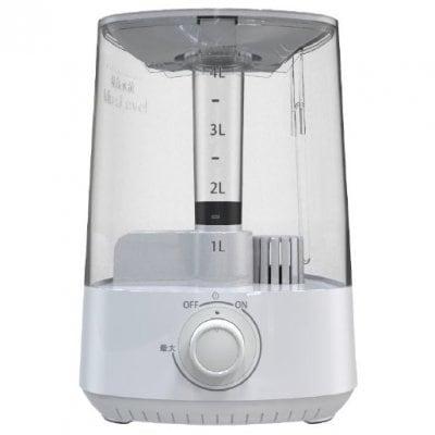 何と、塩を水に混ぜて入れると、次亜塩素酸水を作る生成器になり、部屋全体の除菌、消臭、加湿も行い、さらにその水をスプレイに入れると、何と、除菌スプレイにもなる非常に便利で画期的な、次亜塩素酸水生成機能付超音波ミスト除菌加湿器 AKC-MH401 送料無料