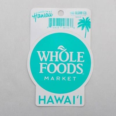 【ハワイ】【Whole Foods Market】 ホールフーズマーケット ステッカー