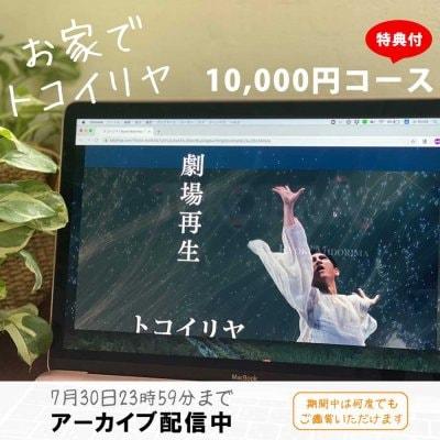 お家でトコイリヤ!『トコイリヤ ARt MOViEng』観て応援!Big FANコース 10,000円