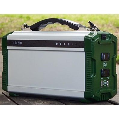 停電対策 信頼性の高い蓄電池を搭載 小型ポータブルリチウムイオン蓄電池 エナジープロ LB-200