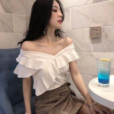 レディース 半袖Tシャツ フリーサイズ
