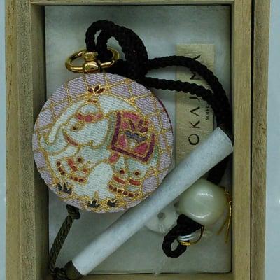京友禅の老舗の手描友禅懐中時計