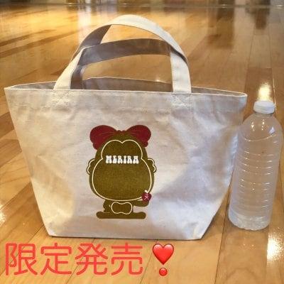 限定!!送料無料!!MERIRA+ キャンバストートランチバッグ