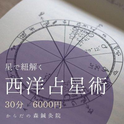 30分|対面|西洋占星術