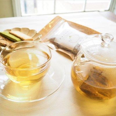 【福島県産ブレンド茶・柿の葉入り】はとむぎ茶 5g×10パック入り