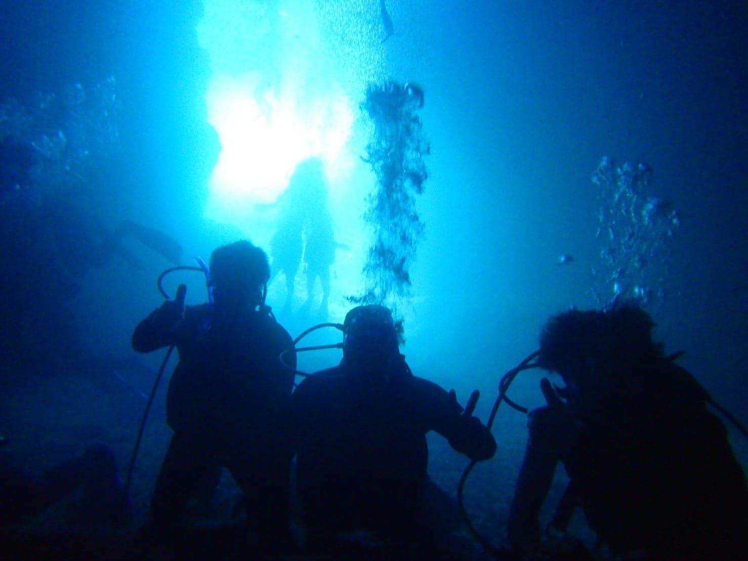 安心【沖縄・恩納村・青の洞窟】ゆったり体験ダイビングのイメージその2