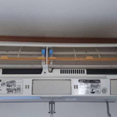 家庭用お掃除機能付きエアコンクリーニング