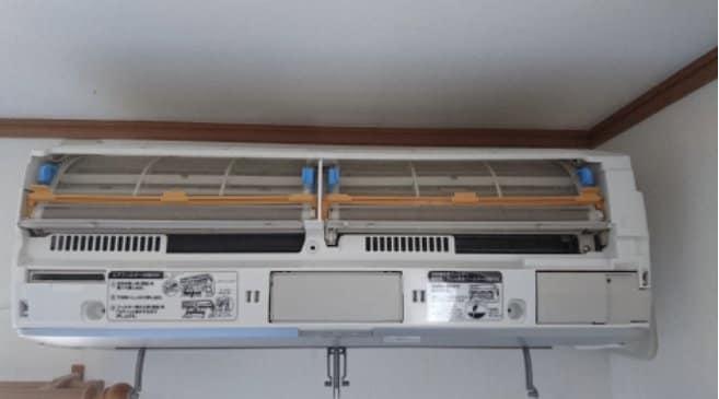 家庭用お掃除機能付きエアコンクリーニングのイメージその1