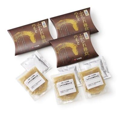 気仙沼ふかひれ雑炊のもと(3食入り)【常温180日】【気仙沼直送!丸光製麺】